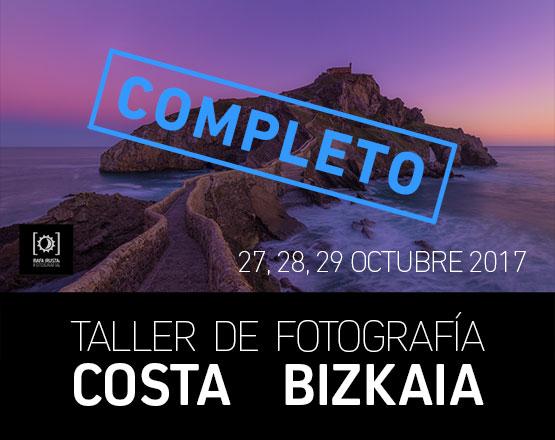 Taller Fotografía Costa de Bizkaia Otoño