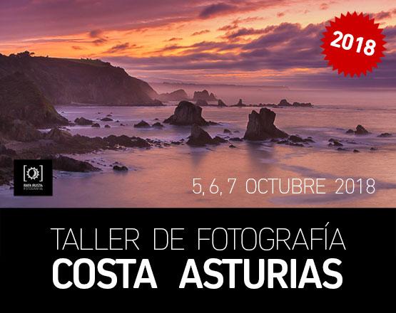 Taller Fotografía Costa de Asturias