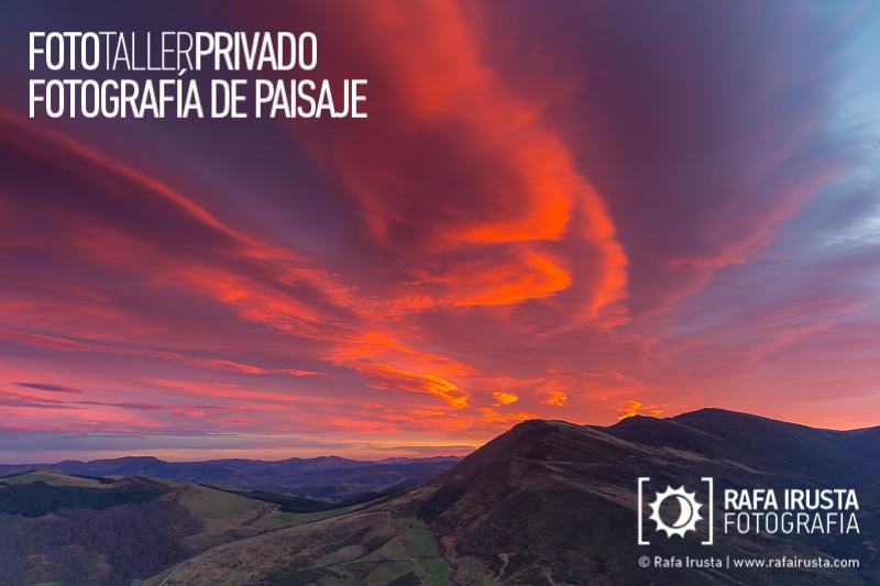 Taller Privado Fotografía de Paisaje, El poder del amanecer
