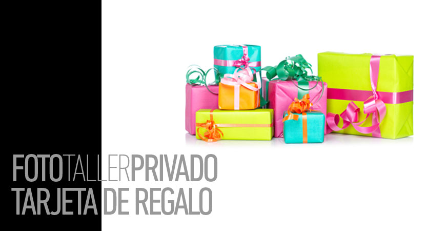 FotoTaller Privado Tarjeta Regalo
