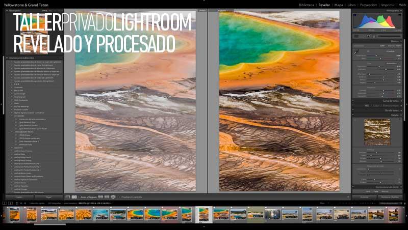 Taller Privado Lightroom, Antes y después