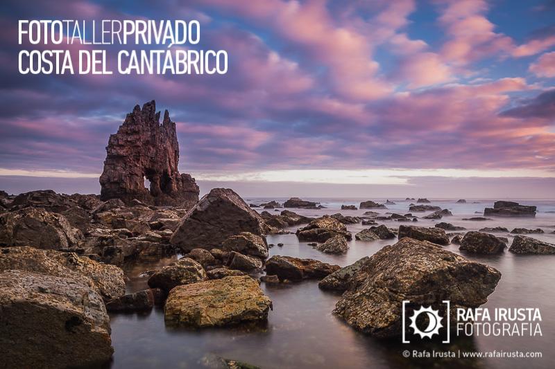 Taller Privado Fotografía de Costa, Amanecer en la Costa de Asturias