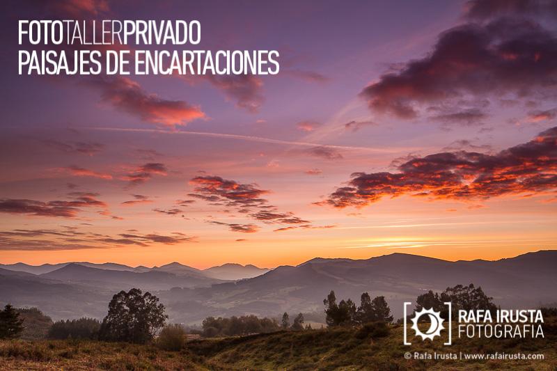 Taller Privado Fotografía de Paisaje Encartaciones, Primeras luces al amanecer
