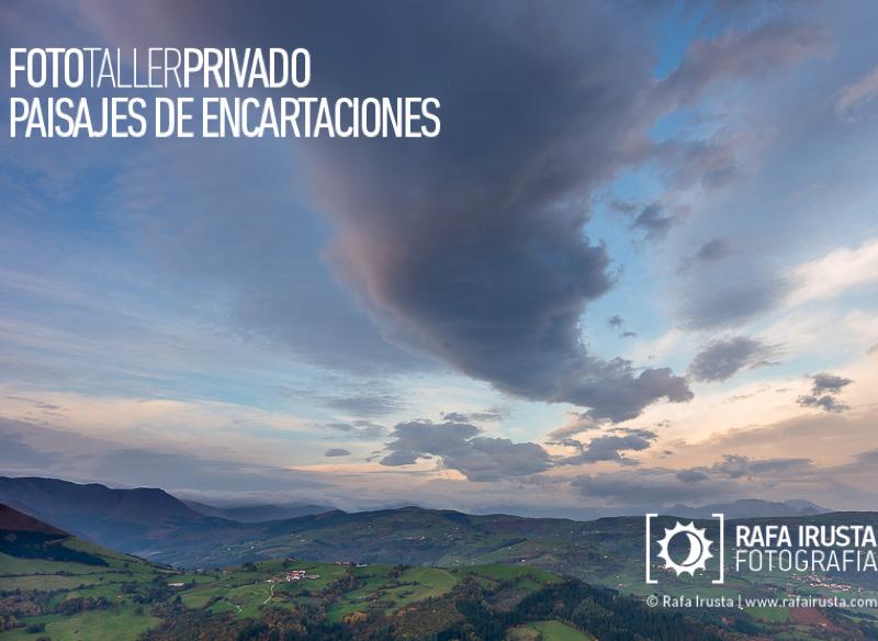 Taller Privado Fotografía de Paisaje Encartaciones, Formaciones nubosas