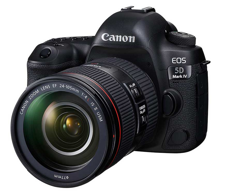 Canon EOS 5D Mark IV con 24-105mm f/4L IS II