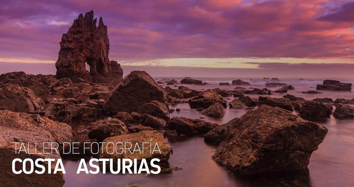 Talleres de Fotografía de Paisaje en la Costa de Asturias