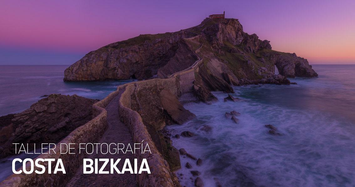Taller de Fotografía Costa de Bizkaia