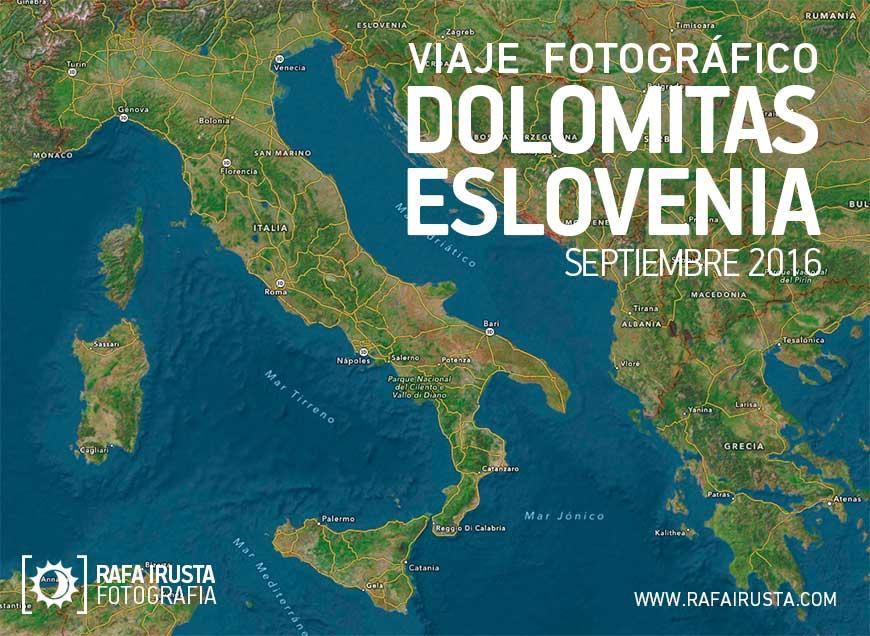 Viaje fotográfico a Dolomitas y Eslovenia