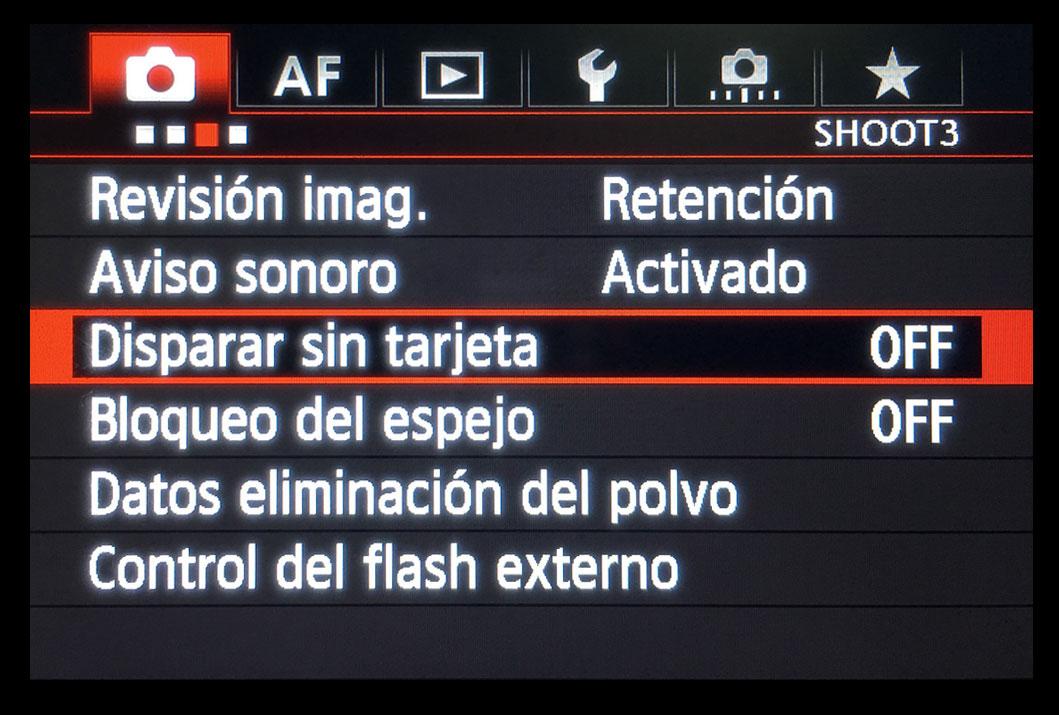personalizar-1dx-03-disparar-sin-tarjeta