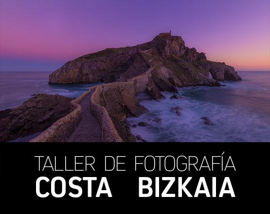 Taller Fotografía Costa de Bizkaia