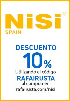 Descuento NISI Rafa Irusta