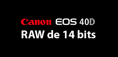 Canon 40D 14 bits
