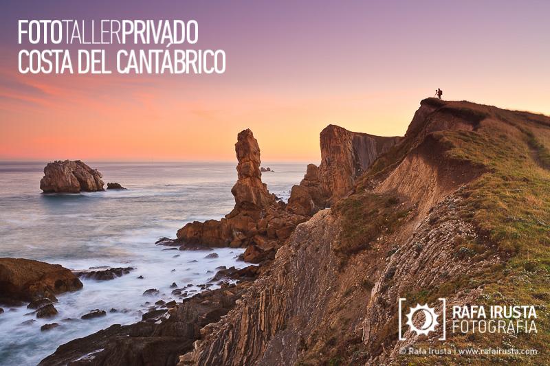 Taller Privado Fotografía de Costa, Amanecer en la Costa de Cantabria
