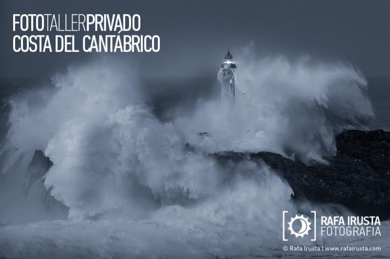 Taller Privado Fotografía de Costa, Faro de Mouro, Cantabria