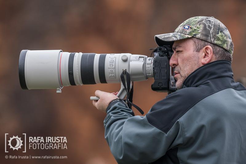 Probando Canon EF 200-400mm f/4L IS, con la cámara Canon 1DX a pulso