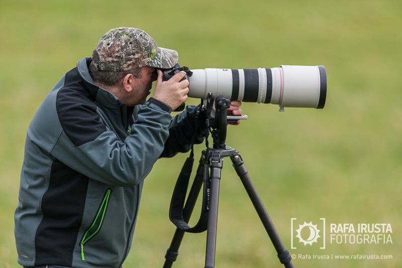 Probando Canon EF 200-400mm f/4L IS, con la cámara Canon 1DX con trípode