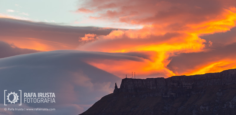 Probando Canon EF 200-400mm f/4L IS, amanecer en el Valle de Mena, Burgos
