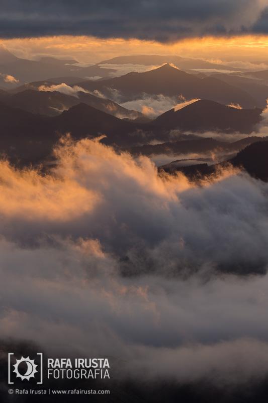Probando Canon EF 200-400mm f/4L IS, primeras luces al amanecer en Bizkaia