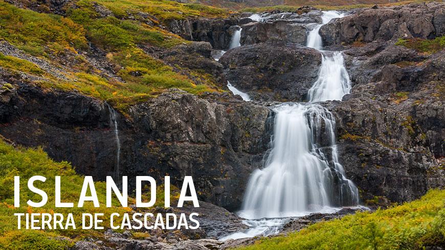 Islandia, Tierra de Cascadas