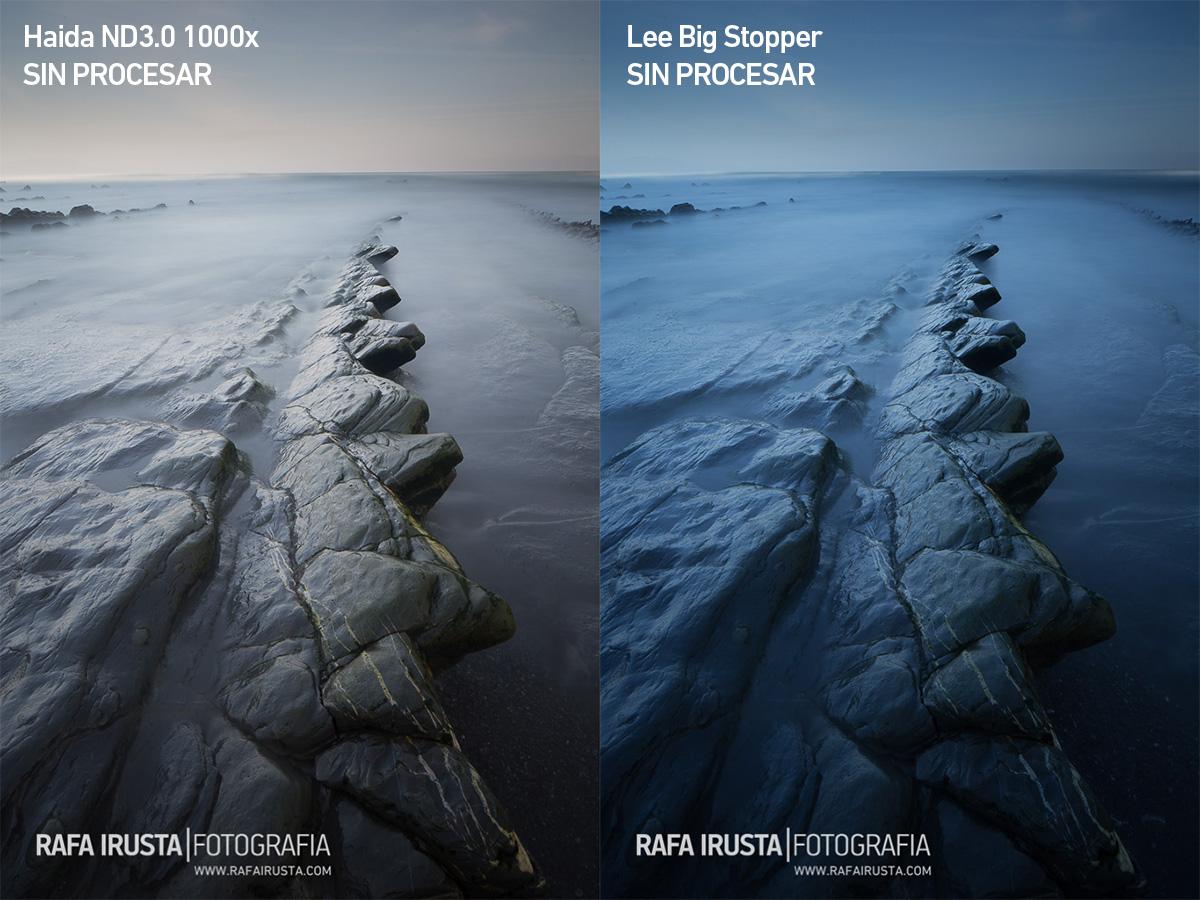 Comparativa filtros 10 pasos Lee Big Stopper y Haida ND3.0 1000x, imagen 2, yes filtros, no procesado