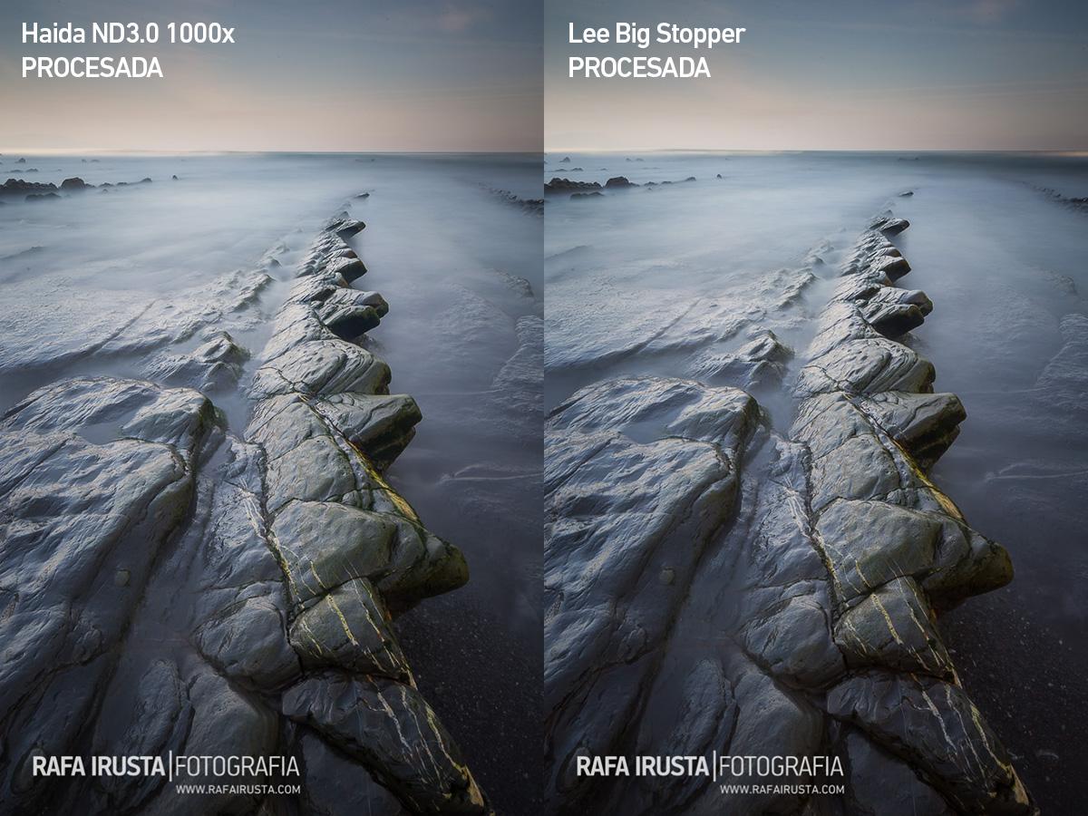 Comparativa filtros 10 pasos Lee Big Stopper y Haida ND3.0 1000x, imagen 2, yes filtros, yes procesado