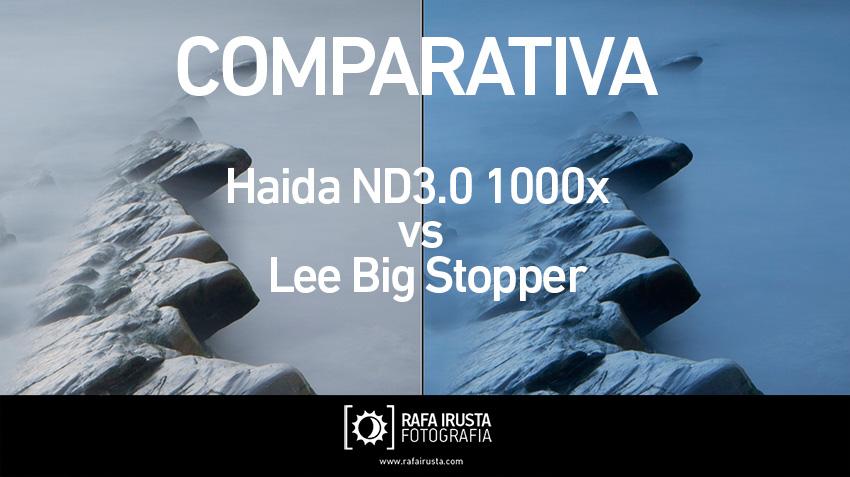 Comparativa filtros 10 pasos Lee Big Stopper y Haida ND3.0 1000x, portada
