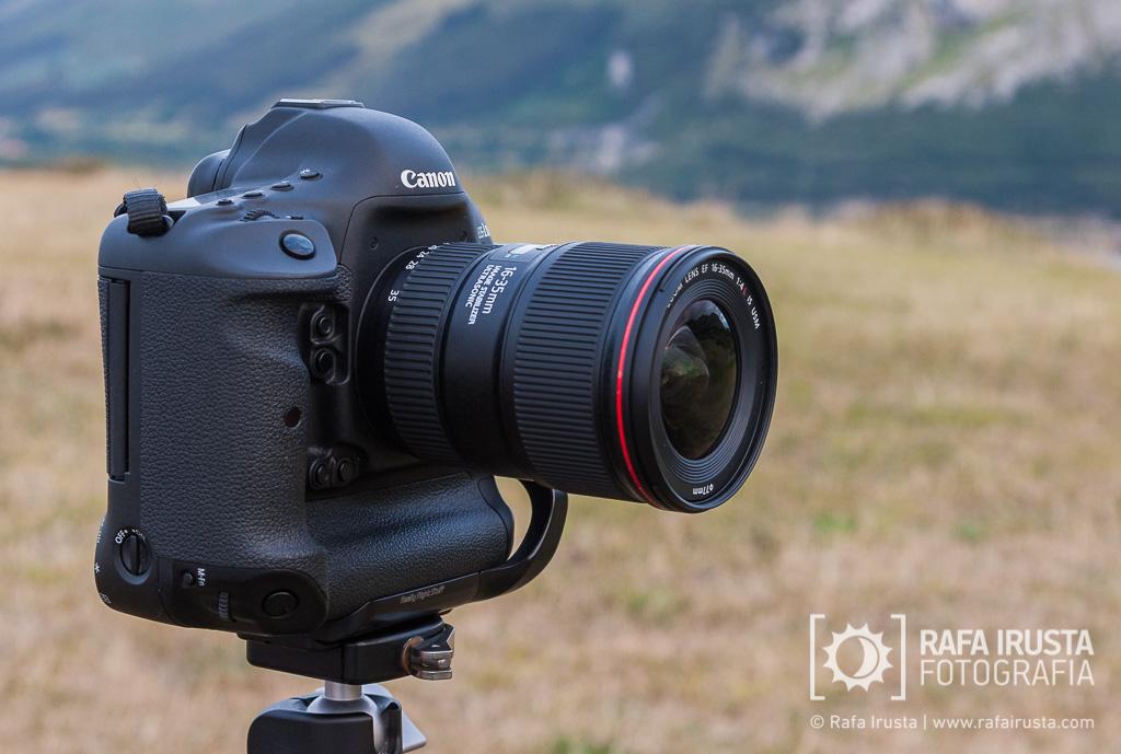 Prueba Canon 16-35mm f/4L IS, objetivo montado en Canon 1DX