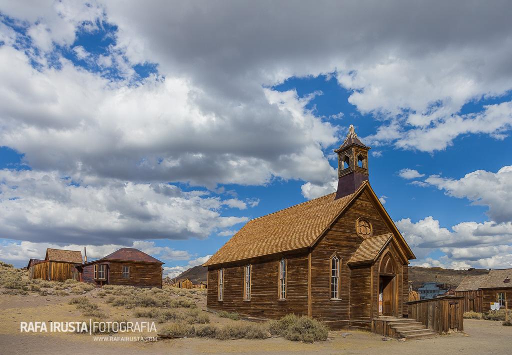 Iglesia Metodista, Bodie State Historic Park, California, USA