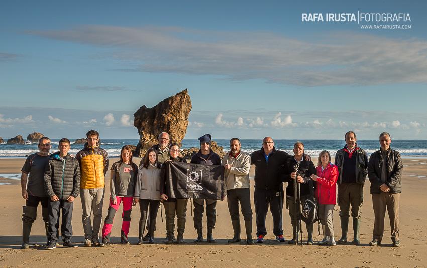 Taller Fotografía Costa Asturias 2016, foto de grupo