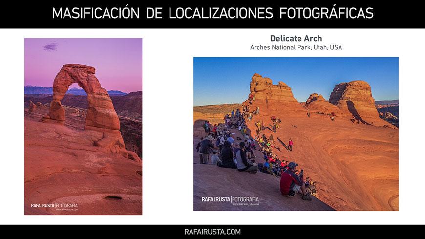 Masificación de Localizaciones Fotográficas, Delicate Arch