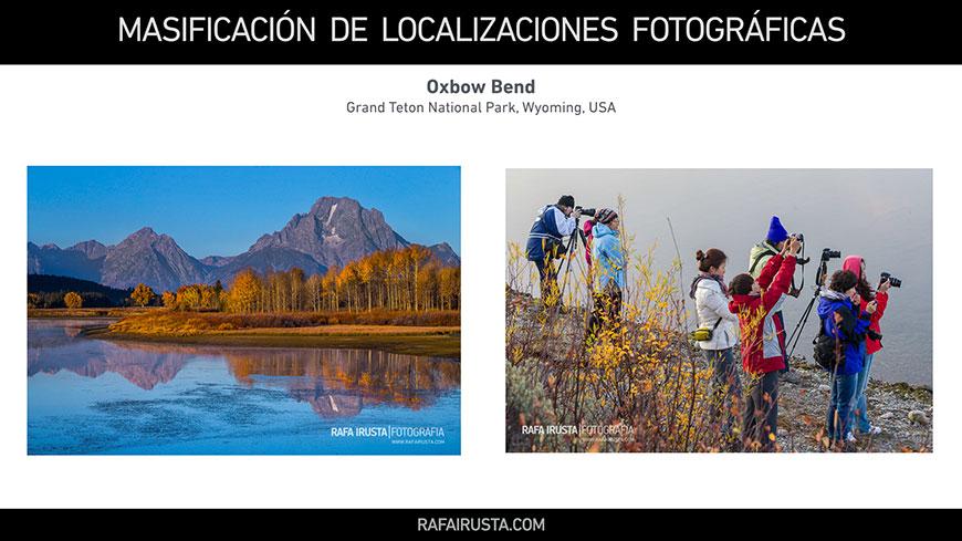Masificación de Localizaciones Fotográficas, Oxbow Bend