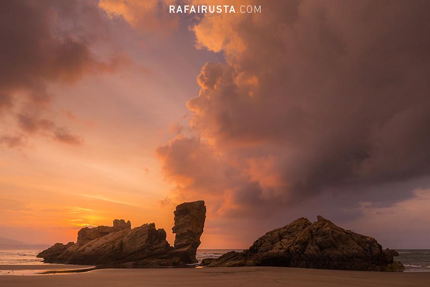 Luz después de la tormenta, Asturias