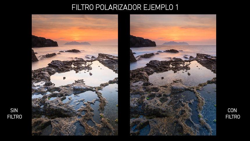 Filtro Polarizador en Fotografia de Pasiaje, ejemplo 1