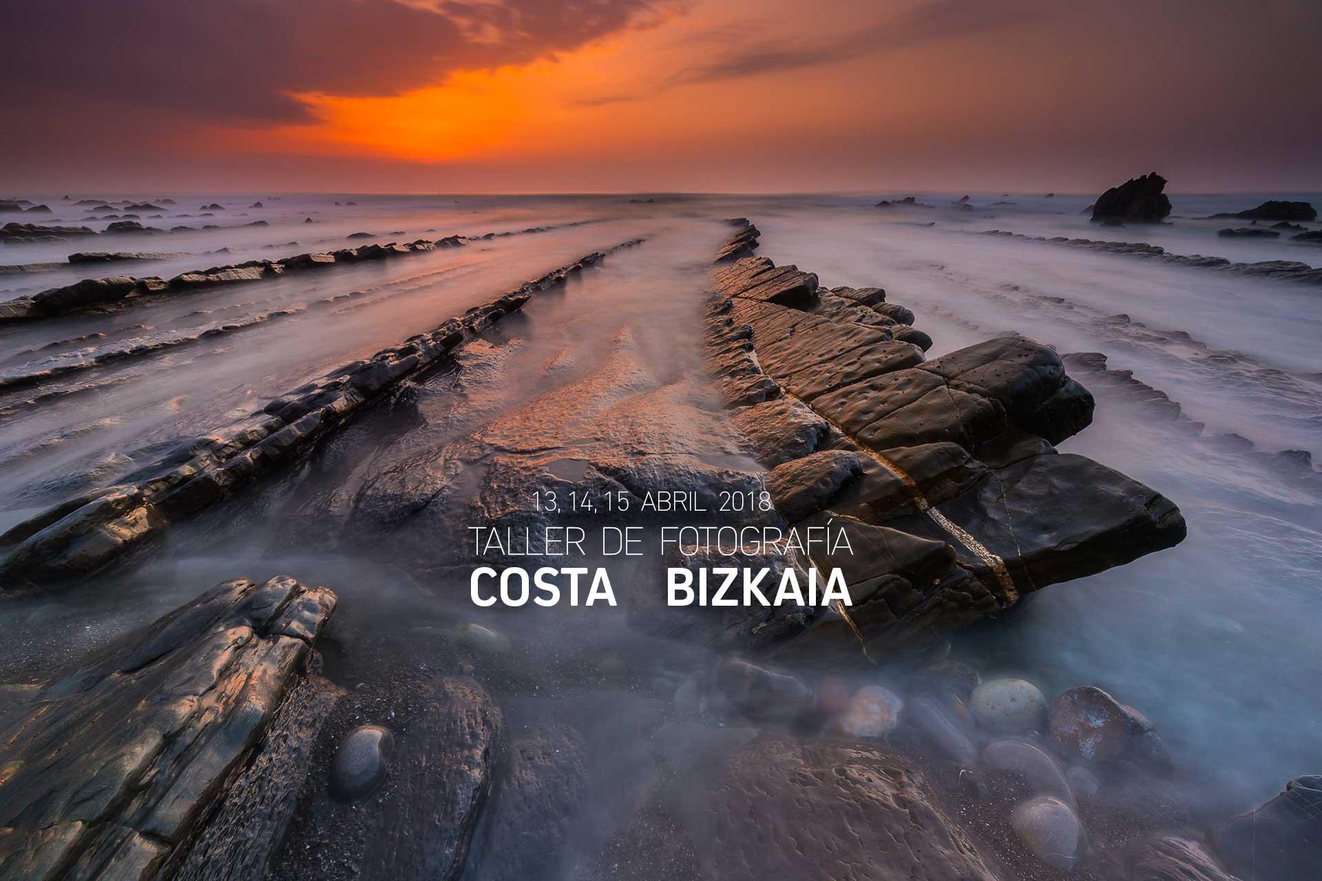 Taller Costa de Bizkaia, 13 al 15 Abril 2018
