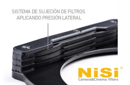 Sistema de sujeción del portafiltros NISI v5 Pro