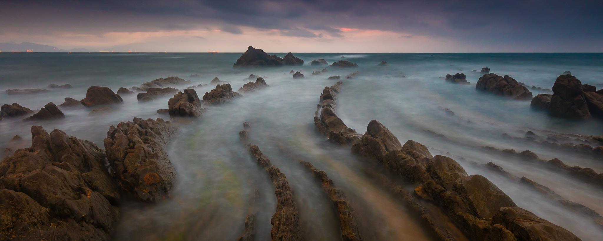 Playa de Barrika, Rafa Irusta
