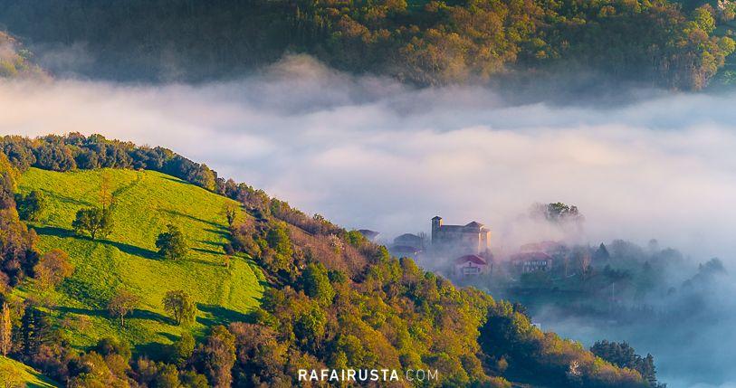 Amanecer en Cantabria