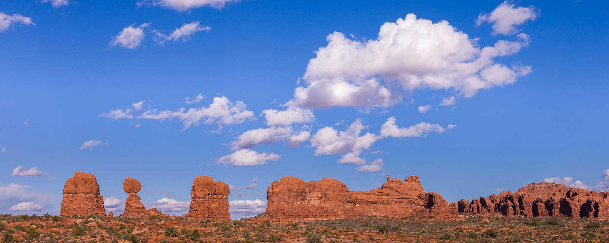 Cabecera Arches, USA