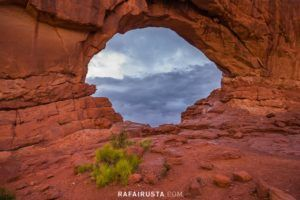 North Window, Arches National Park, Utah, USA