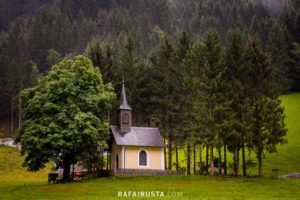 The old chapel in Huttschlag, municipality in the St. Johann im Pongau, Austria