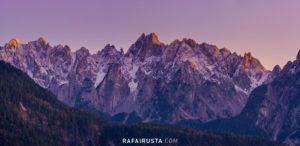 Gosaukamm, a rugged chain of mountains in Dachstein, Salzkammergut, Austria