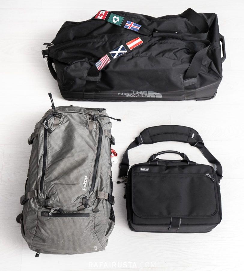 Mochilas y bolsas de viaje