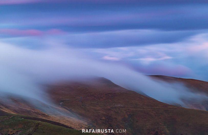 Cómo fotografiar paisajes con niebla, Selva de Irati, Navarra