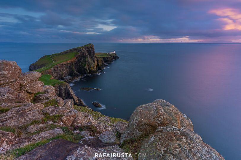 Atardecer desde Neist Point, Escocia