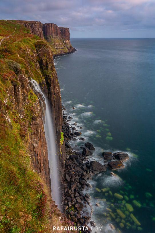 Kilt Rock and Mealt Falls, Isle of Skye, Escocia