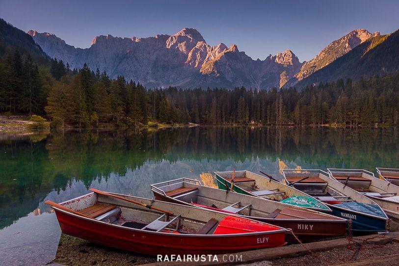 Lago di Fusine, Italia