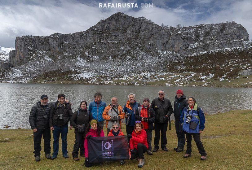Taller de Fotografía Picos de Europa abril 2019, foto de grupo
