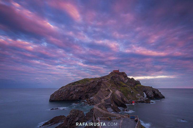 San Juan de Gaztelugatxe Taller Costa de Bizkaia con Rafa Irusta