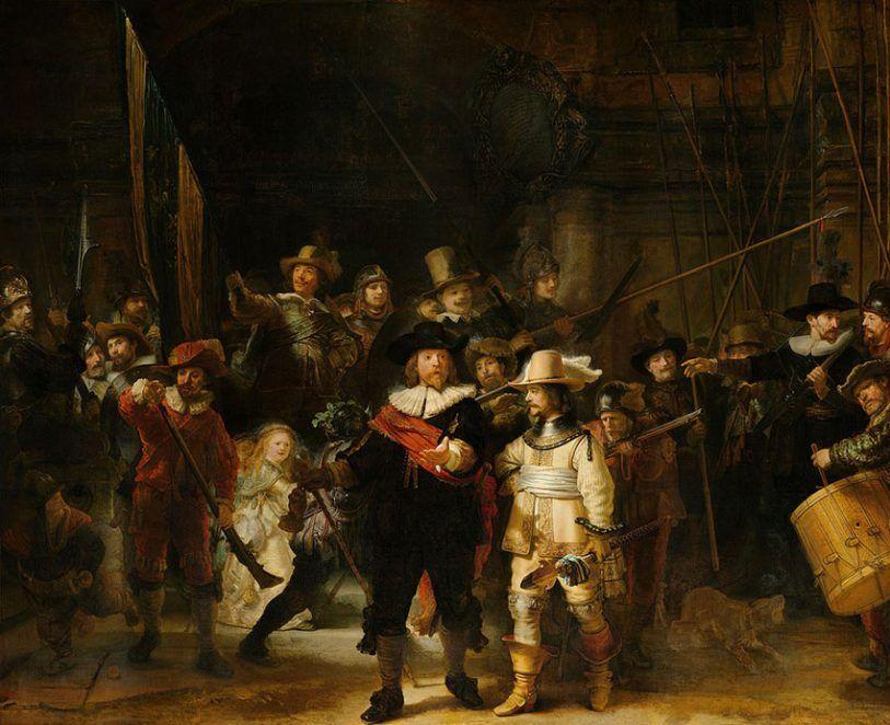 Rembrandt van Rijn - La ronda de noche