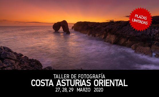 Taller de Fotografía Costa Asturias Oriental, 27, 28, 29 Marzo 2020